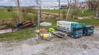 Bohreinheit mit Recycler